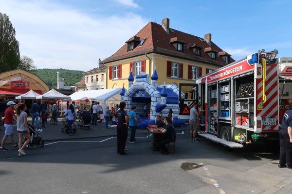 Galerie: Frühlingsfest mit Autoschau 2018 » Handwerk und Gewerbe in Königstein :: HGK » Handel in der Kurstadt