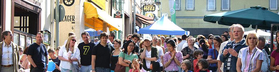 Gruppenfoto: HGK-Fest in Königstein » Handwerk und Gewerbe in Königstein :: HGK » Handel in der Kurstadt